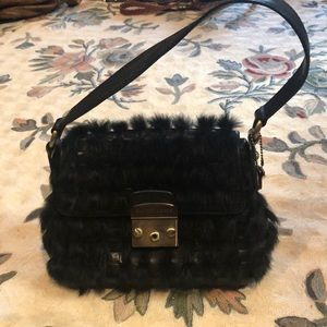 One of a kind Elliott Lucca black minibag